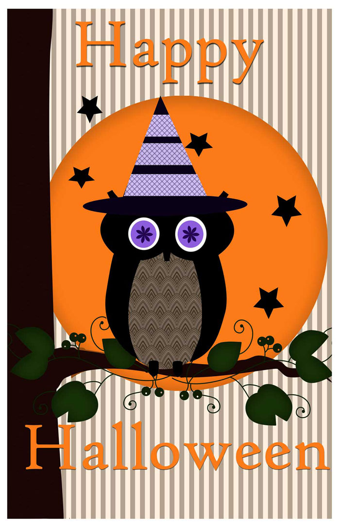 Halloween owl poster printable - Printable halloween decorations ...