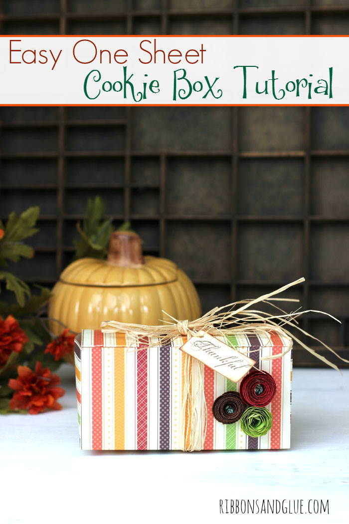 free paper box and bag templates cookie box tutorial