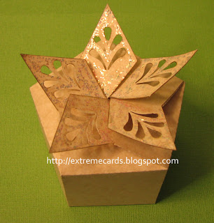 free paper box and bag templates snowflake box