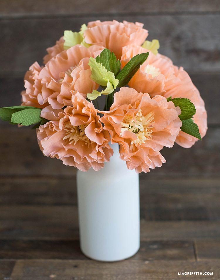 icelandic crepe paper poppies