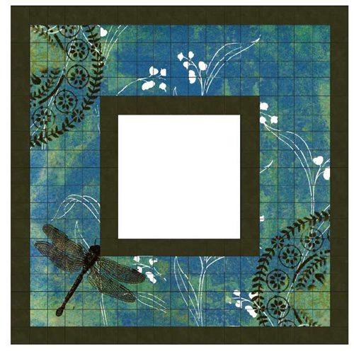 Dragonfly Ikea Malma Mosaic Mirror