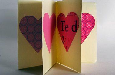 origami folderd card