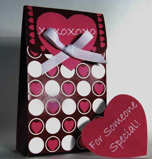 valentine box printable