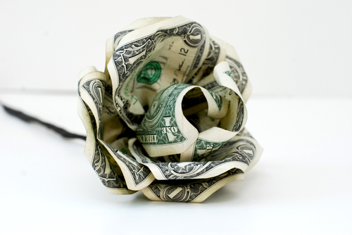 crafts that make the most money paper flower from dollar bills 7646