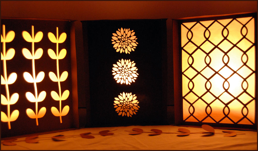 Square Paper Lantern Luminary Party Craft