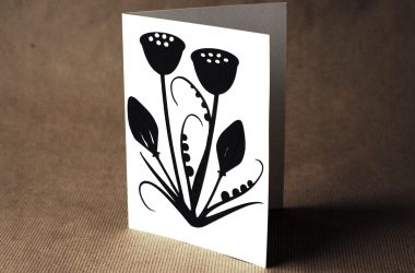 paper cut greeting cards