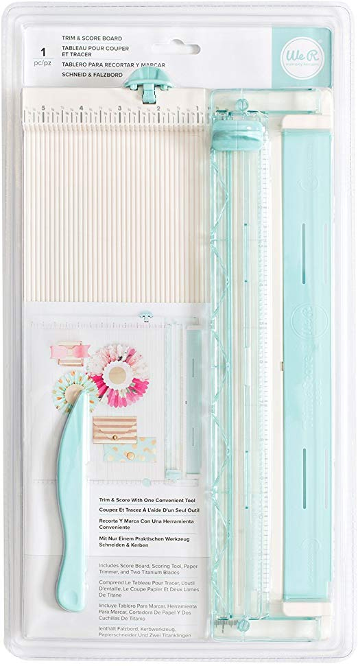 paper cutter ruler and bone folder
