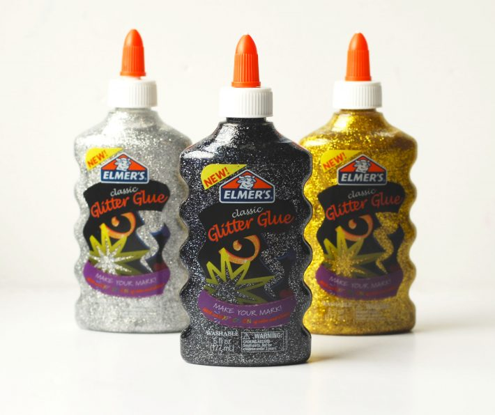 Elmer's Glitter Glue Bottles