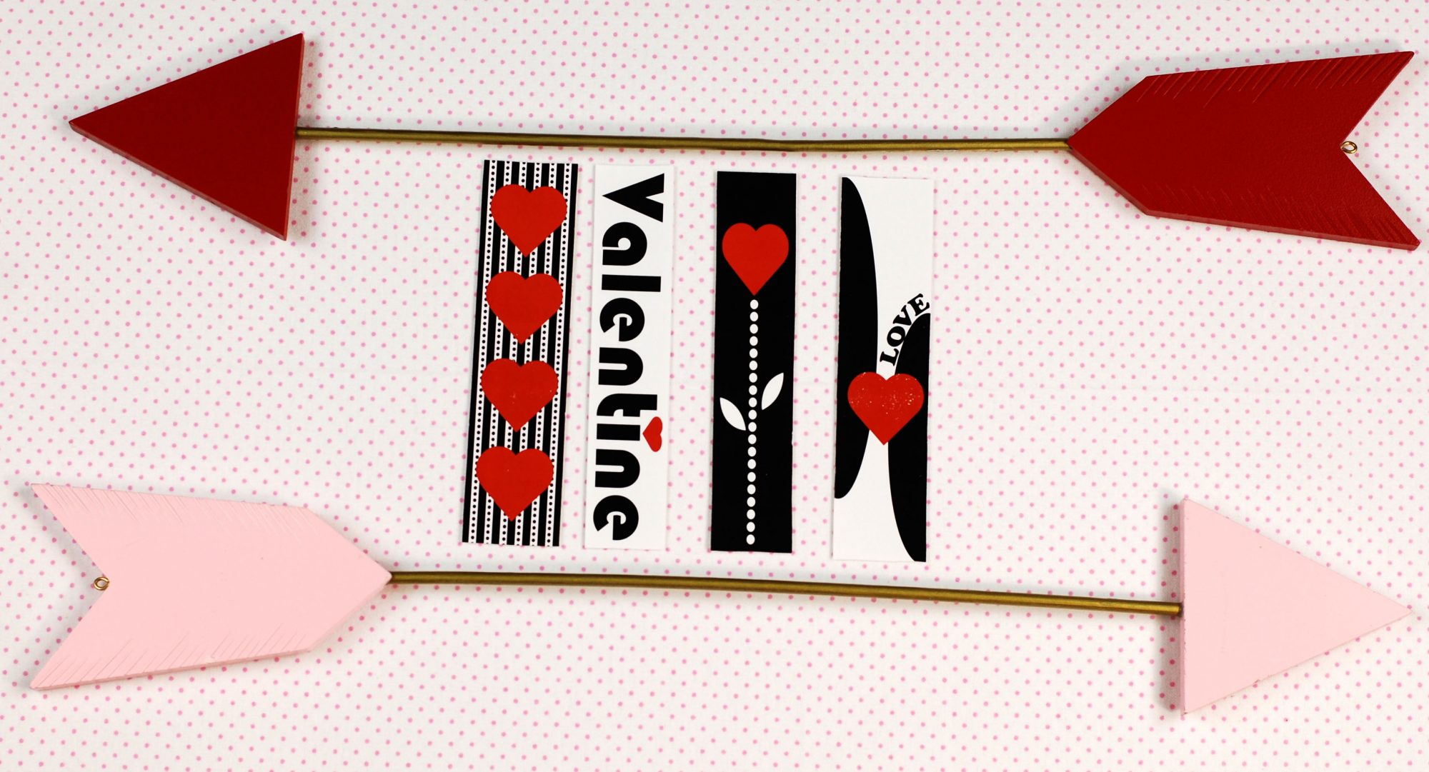 valentine bookmark printable