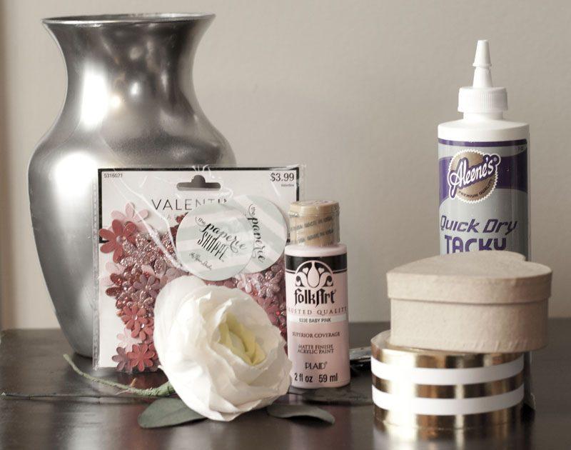 valentine box supplies