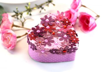 valentine heart boxes