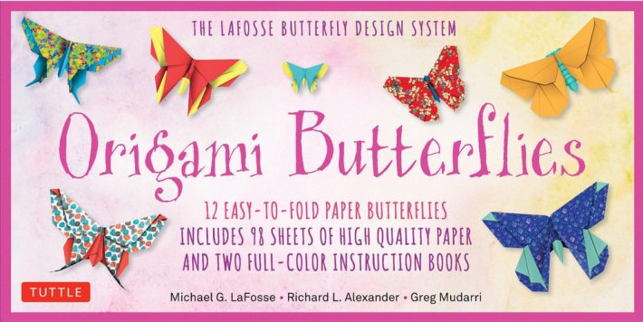 butterfly origami kit