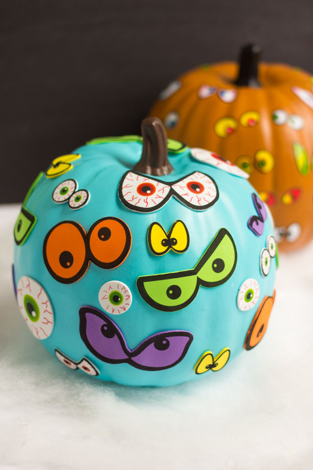 eyeball pumpkins