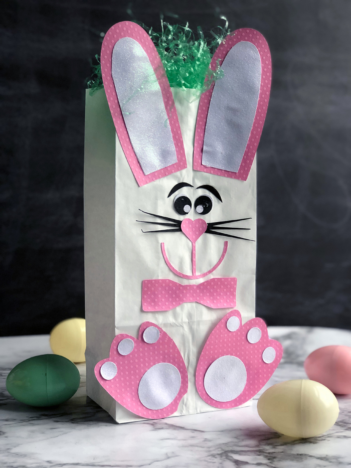 Easter Bunny Lunch Bag craft