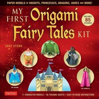 origami fairy tales box cover